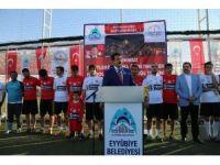 Eyyübiye Belediyesinin düzenlediği futbol turnuvası sona erdi