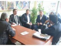 AK Parti'den basın kuruluşlarına ziyaret