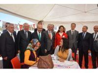 Adana 6. İstihdam Fuarı'nda kan bağışına yoğun ilgi