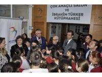 Beylikdüzü'ndeki Büyükşehir Ortaokulu kütüphanesine kavuştu