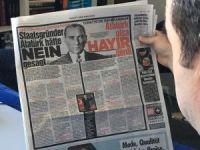 """Alman Bild gazetesi yine Türkçe başlık attı: """"Atatürk olsa hayır derdi"""""""