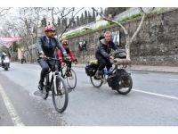 Alman Peter Smolka, bisikletiyle 4 yıldır dünya turu yapıyor