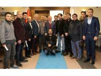 15 Temmuz Gazileri ve Nöbetçileri'nden Başkan Sekmen'e ziyaret