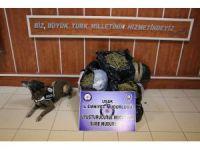 Uşak'ta 49 kilo 800 gram esrar yakalandı