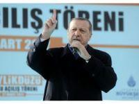 Cumhurbaşkanı Erdoğan'dan skandal pankarta tepki