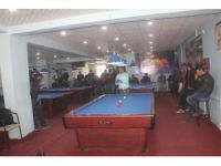 Ağrı'da bölgesel bilardo turnuvası düzenlendi
