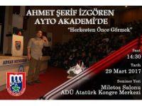 AYTO Akademi, İzgören'i Aydın halkı ile buluşturuyor