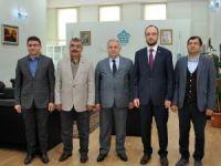 MÜSİAD Konya Şubesinden Rektör Şeker'e ziyaret