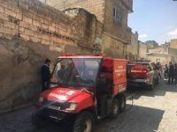 İtfaiye araçları sokağa giremeyince ATV'ler devreye girdi
