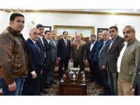 Vali Tuna Türkmen birliği üyelerini kabul etti
