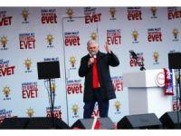 """Başbakan Yıldırım: """"Erzurumlu Teyyo bunun yalanlarını duysa pataklar bunu"""""""