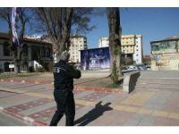 Afyonkarahisar'da şüpheli valiz alarmı