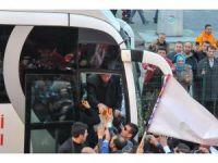 Cumhurbaşkanı Erdoğan'a Samsun simidi ikram edildi