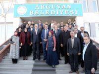 Bakan Tüfenkci'den Arguvan Belediyesine ziyaret