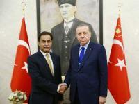 Cumhurbaşkanı Erdoğan, Pakistan Meclis Başkanı'nı kabul etti