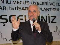 AK Parti Genel Başkan Yardımcısı Kaya belediye meclis üyeleri ve muhtarlarla bir araya geldi