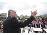 Başkan Karalar, CHP Genel Başkan Yardımcısı Bingöl ile park açılışı yaptı