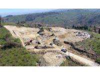 Akçakoca'da yeni içme suyu arıtma tesisi çalışmaları devam ediyor