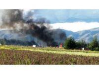 Peru Havayolları'na ait uçak pistten çıktı