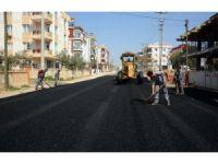 Güneş Mahallesinin asfaltı yenileniyor