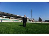 Bursa'nın stadyumdan dönüştürülen yeni meydanı Cumhurbaşkanı'nı bekliyor