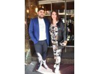 Ünlü sanatçı Ebru Yaşar ve eşinden örnek davranış