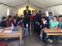Milletvekili Salıcı, depremzedeleri ziyaret etti