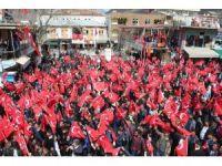Sason'da 'Teröre hayır, kardeşliğe evet' mitingi