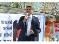 """Bakan Tüfenkci: """"Türkiye'nin rantını yiyenler 'eski sistem devam etsin' diyor"""""""