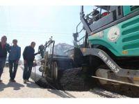 Bolu Belediyesi asfalt çalışmalarına başladı