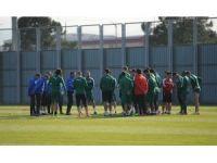 Bursaspor'da Stancu, Jovic ve Faty Konyaspor'a karşı yok