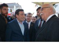 """Bakan Avcı, Bilecik'te MHP'nin """"Kararımız Evet"""" standını ziyaret etti"""
