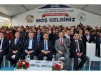 Bakan Özhaseki, Gaziosmanpaşa'da temel atma törenine katıldı