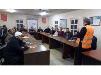 AFAD'tan Beşir Derneği Üyelerine afet bilinci eğitimi