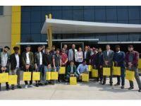 Yabancı öğrenciler Turgutlu'da inceleme gezisi yaptı