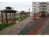 Cizre Konak Mahallesi'ndeki 3 park halkın hizmetine girdi