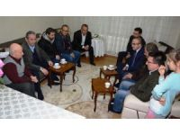 AK Partili Turan'dan taziye ziyaretleri