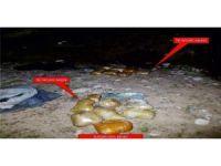 Silopi'de terör örgütü PKK'nın gömülü mühimmatları bulundu