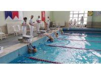 Küçükle yüzme yarışmaları tamamlandı