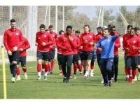 Antalyaspor'da neşeli antrenman
