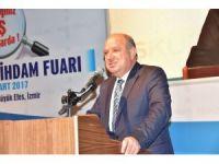 İş arayanların fuarı İzmir'de açıldı