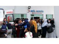 Nusaybin'de patlama: 2 çocuk ağır yaralandı