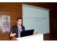 DÜ'de çocuk istismarı ve görüşme tekniği konferansı