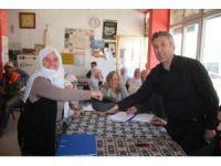 Sarıcakaya'da üreticilere sera ve süt sığırcılığı desteği