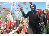 Aile ve Sosyal Politikalar Bakanı Kaya'ya sevgi seli