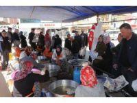 Çan Belediyesi'nden geleneksel gödek ikramları devam ediyor