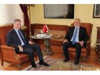 AK Parti Grup Başkanvekili Elitaş'tan, Vali Gül'e ziyaret