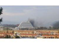 İzmir'deki 5 yıldızlı otelde korkutan yangın