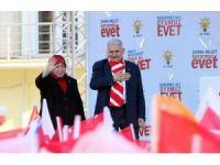 Başbakan Binali Yıldırım Kırklareli'nde