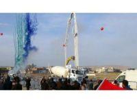 Cumhurbaşkanı Erdoğan, telekonferansla Nusaybin'deki temel atma törenine katıldı